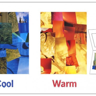 Cool and Warm Color Collage