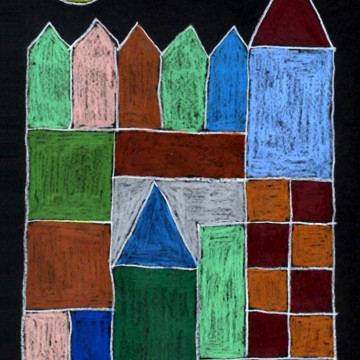 Paul Klee Abstract Castle