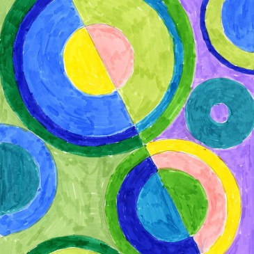 Delaunay Marker Drawing