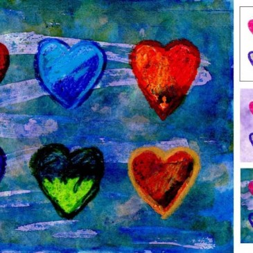 Valentine Heart Painting