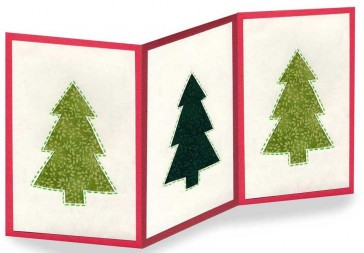 Z-Fold Holiday Card