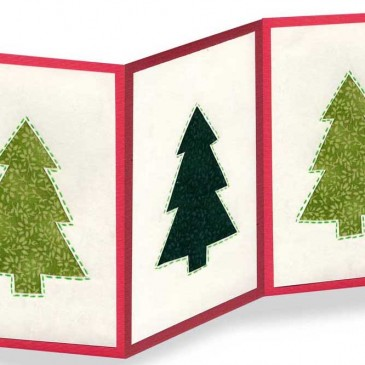 Cutout Christmas Card