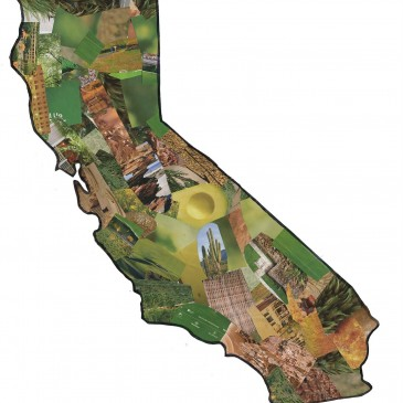 California Collage with PDF Template