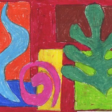 Overlapping Matisse Shapes