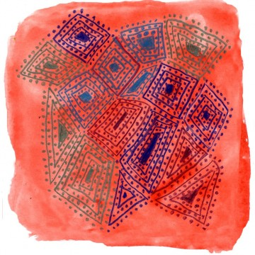 Aboriginal Lines and Dots