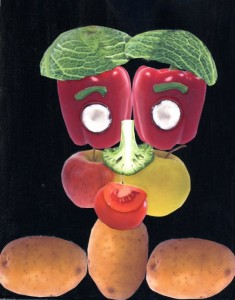 Arcimboldo Fruit Face