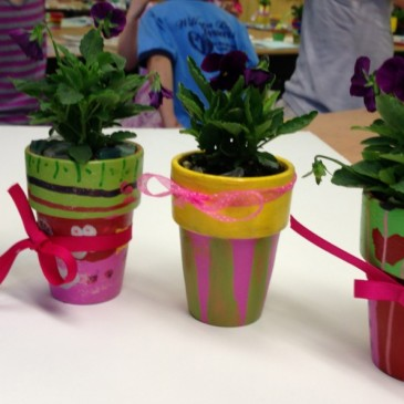 Painted Planters Class