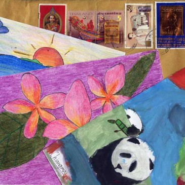 Art Cards from Thailand