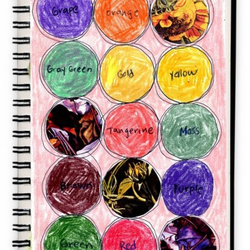 Art Journal: Circles of Color