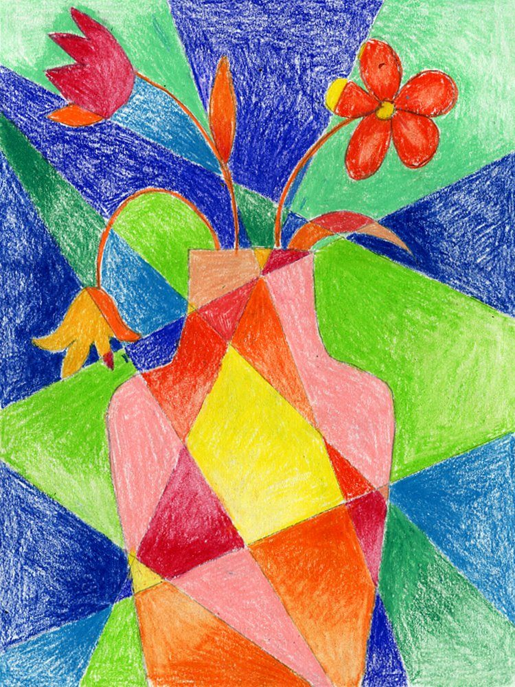 Gallery For gt Easy Abstract Flower Drawings