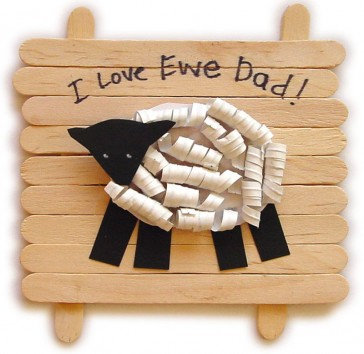 """""""I Love Ewe"""" Father's Day Gift"""