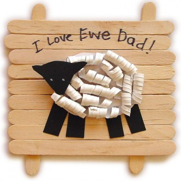 """I Love Ewe"" Father's Day Gift"