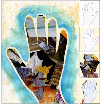 """My Hand"" Collage"