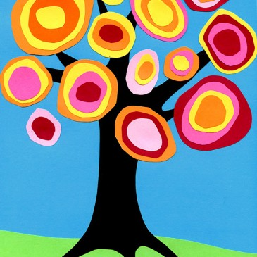 Kandinsky Fall Tree