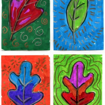 Leaf Art Trading Cards