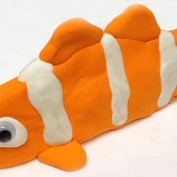 Model Magic Clown Fish
