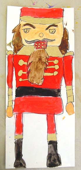 Nutcracker Painting