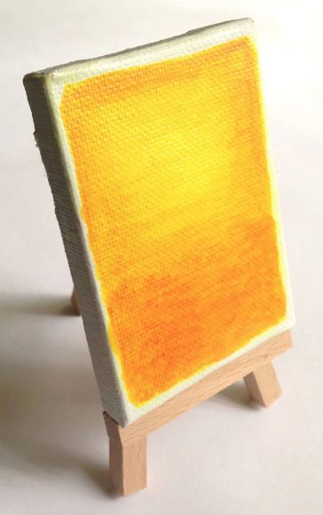 Miniature Rothko Painting