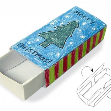 Tiny Christmas Matchbox