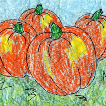 Batik Pumpkin Art