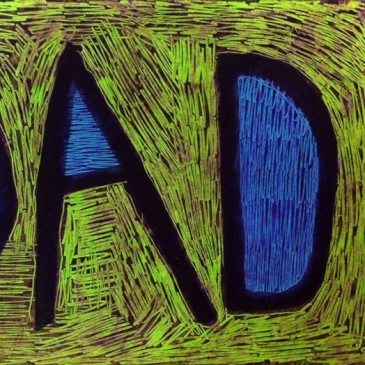 DAD Scratch Art Card
