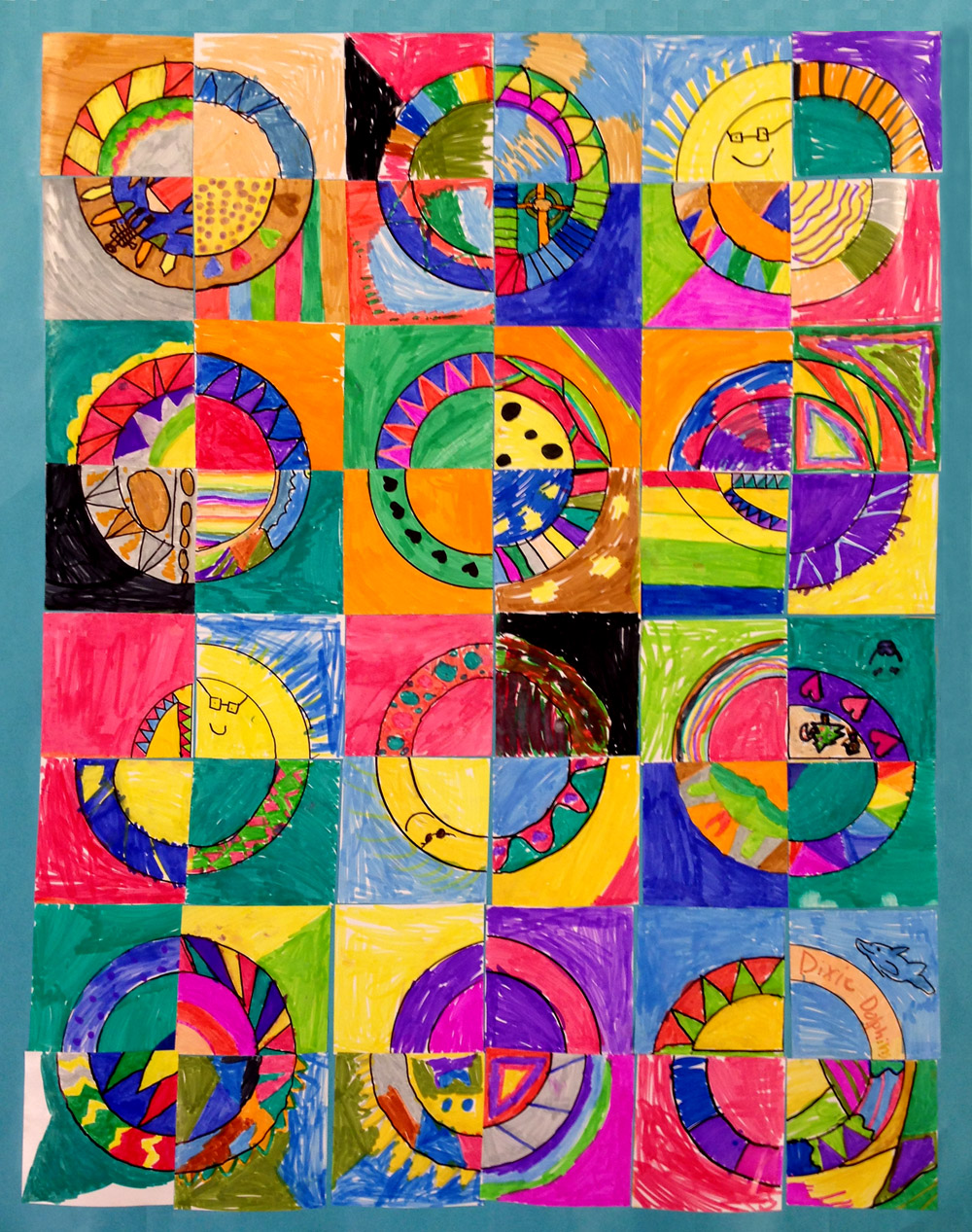 Paper quilts art projects for kids for Cool art ideas for kids
