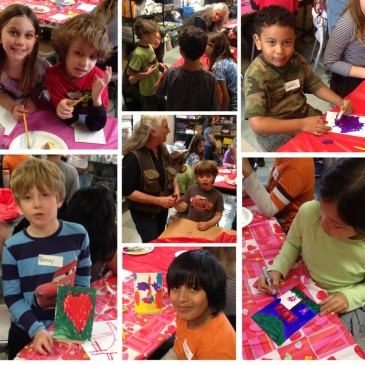 Michaels' Sponsored Kindness Art Party