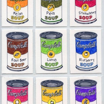 Warhol Art Trading Cards