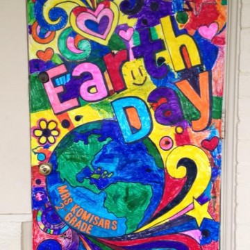 Earth Day Doodle Poster