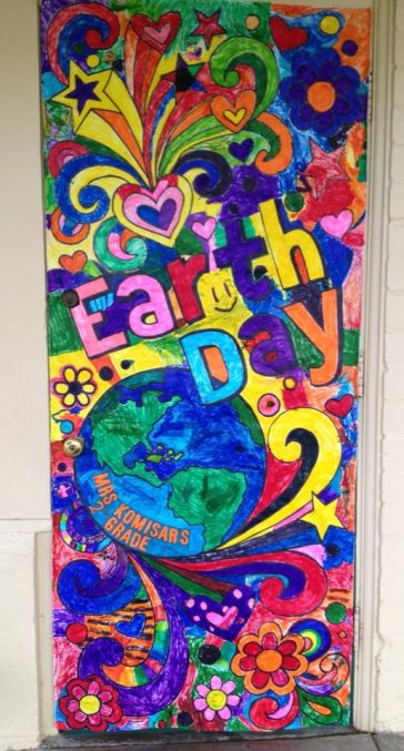 Earth Day Door Poster