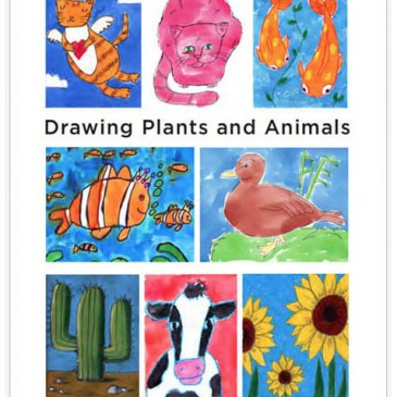 Drawing Plants & Animals Book