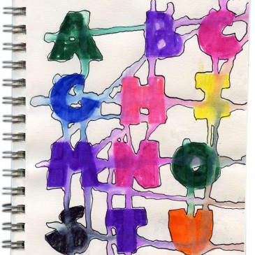 Drippy Letters