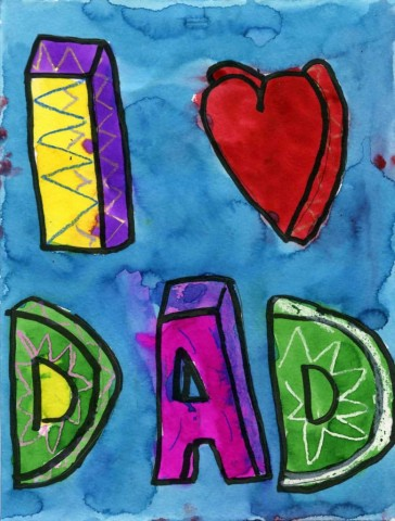 Father's Day Painting