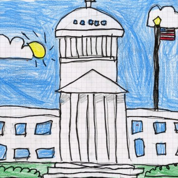 Draw the US Capitol Building