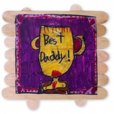 Father's Day Popsicle Board
