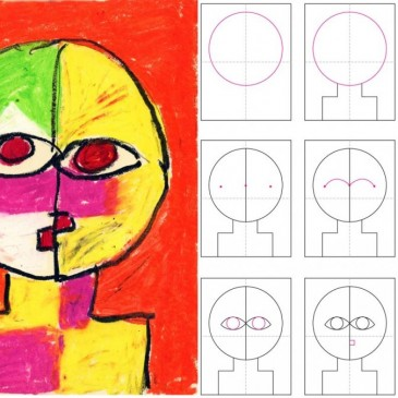 How to Draw a Klee Portrait