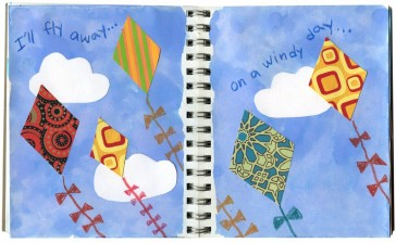 Flying Kites Journal Page