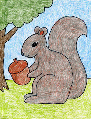 Draw a Squirrel