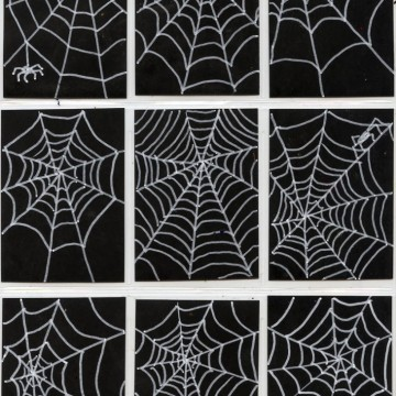 Spiderweb Art Trading Cards
