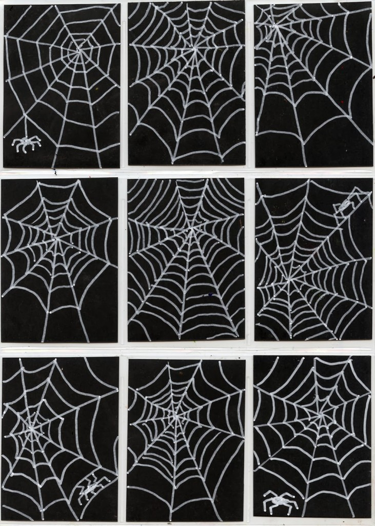 Drawing spiderwebs art projects for kids bloglovin for Arts and craft websites