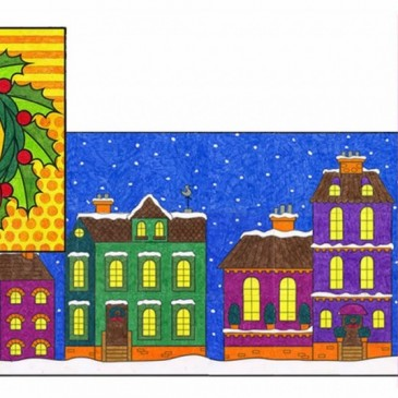 NEW! Mini Christmas Mural Set Two