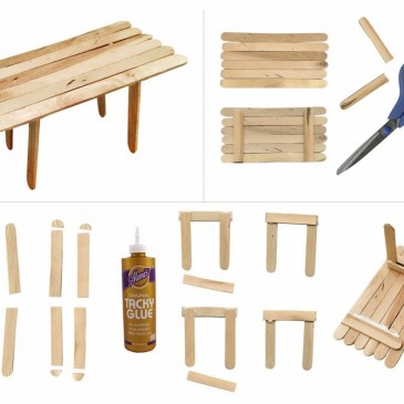 Make a Popsicle Table