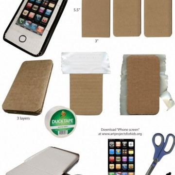 Make a Duct Tape iPhone