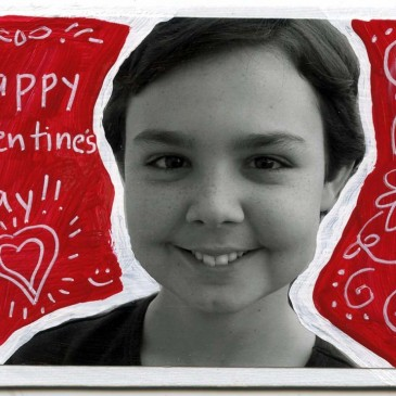 Canvas Collage Valentine
