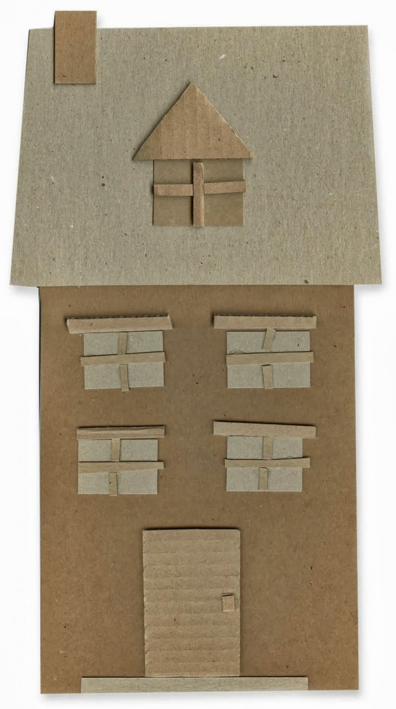 Cardboard Houses 2d Art Projects For Kids