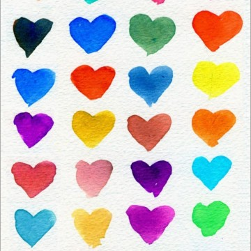Hearts of Many Colors