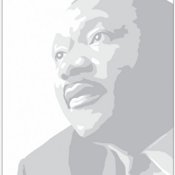 New MLK Coloring Page