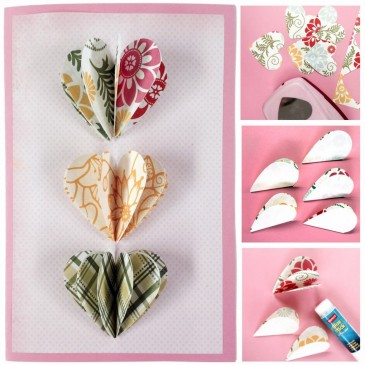 Pop Out Paper Hearts