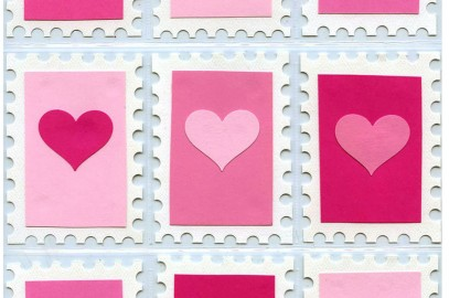 Hole Punch Valentine Card