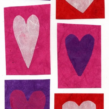 Heart Collage Valentine